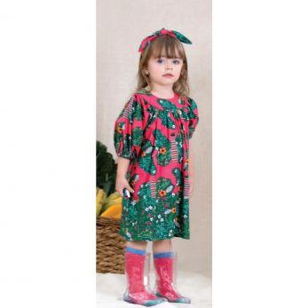 Vestido Infantil  Borboleta