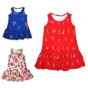 Vestido Infantil Menina Regata Verão Malwee