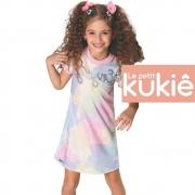Vestido Infantil Tie-Dye