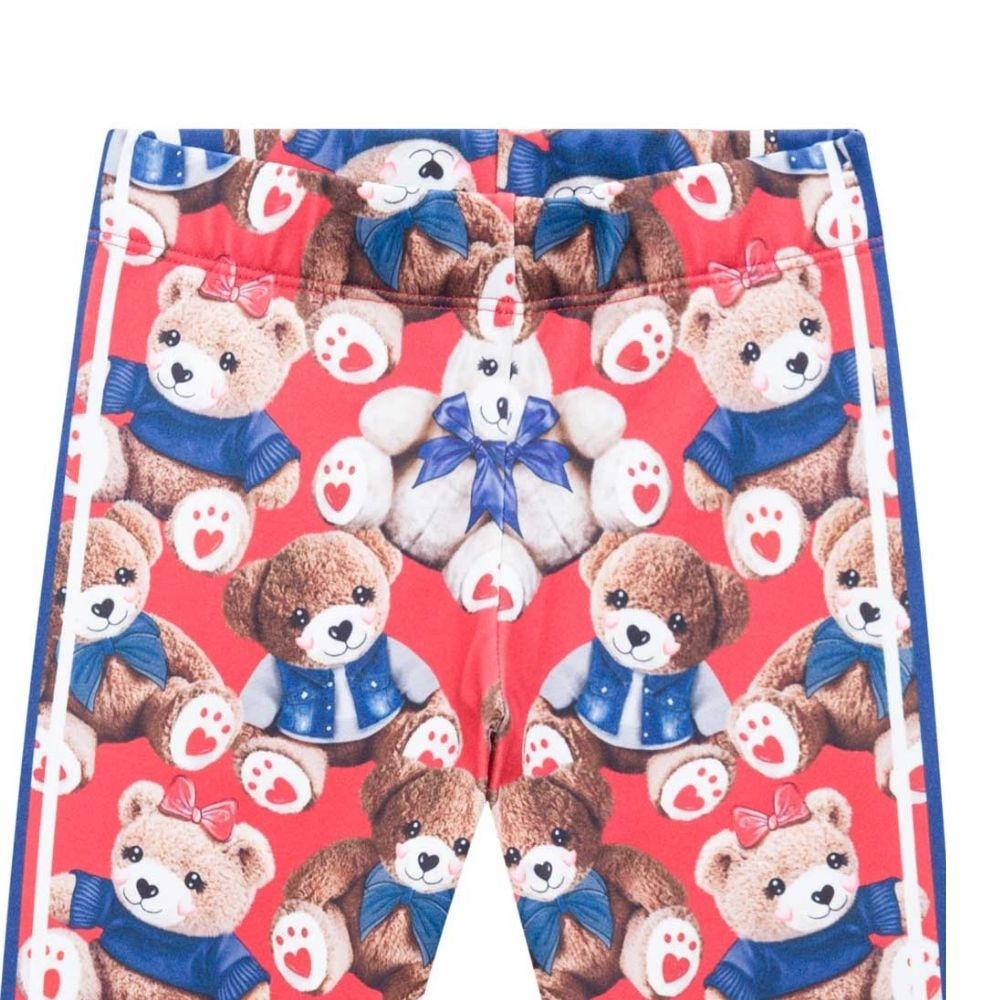 Agasalho Infantil Feminino Blusão e Legging Beautiful Little Bear