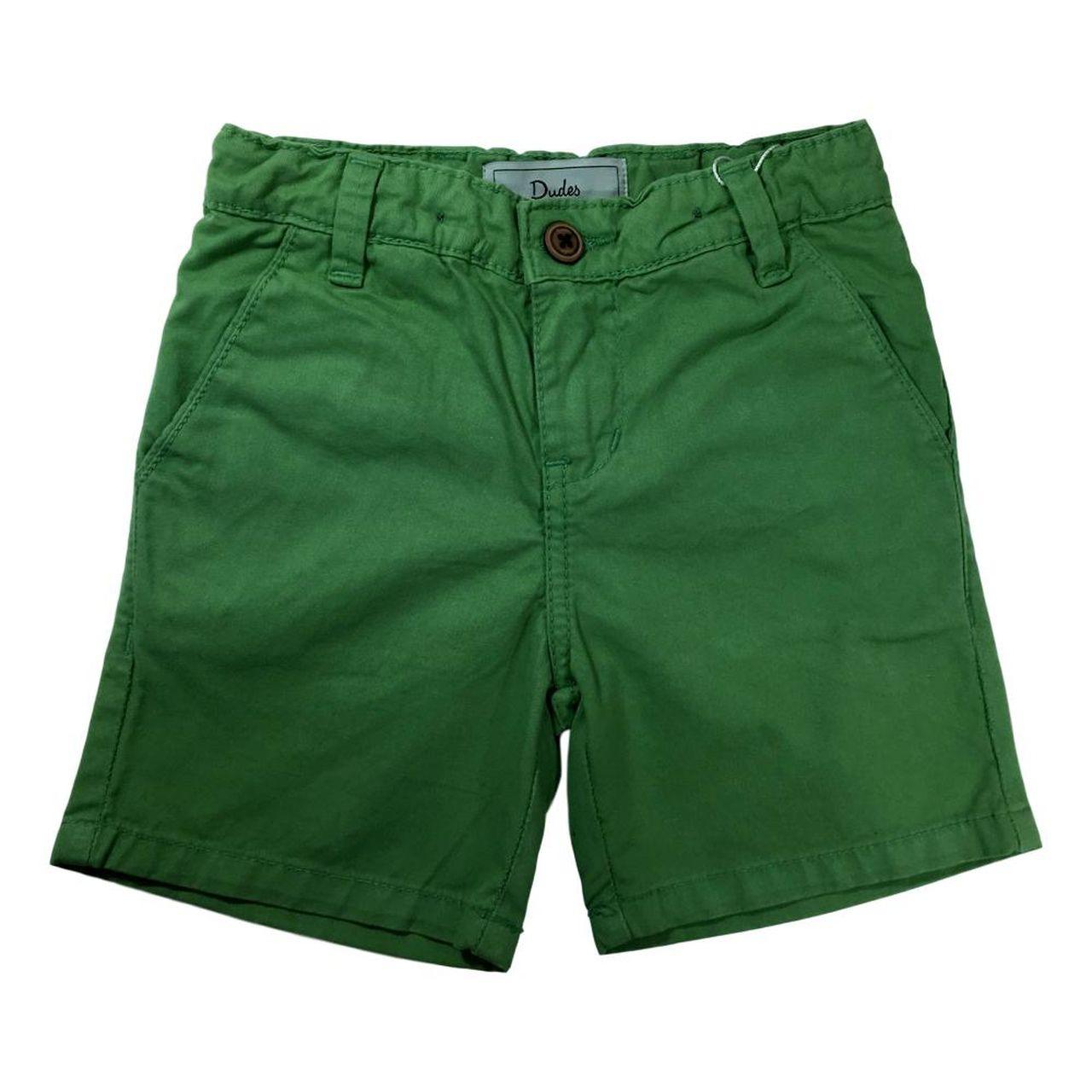 Bermuda Sarja Infantil - Verde