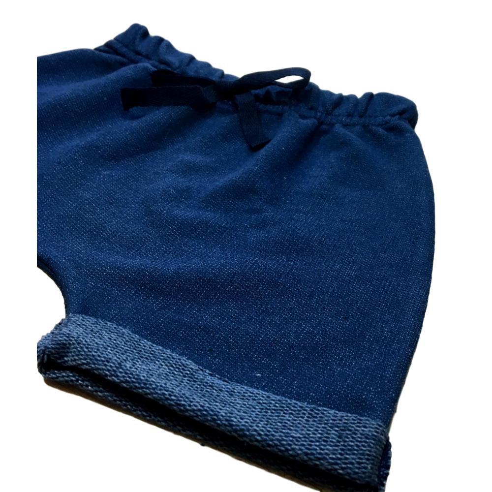 Bermuda Saruel Azul Jeans