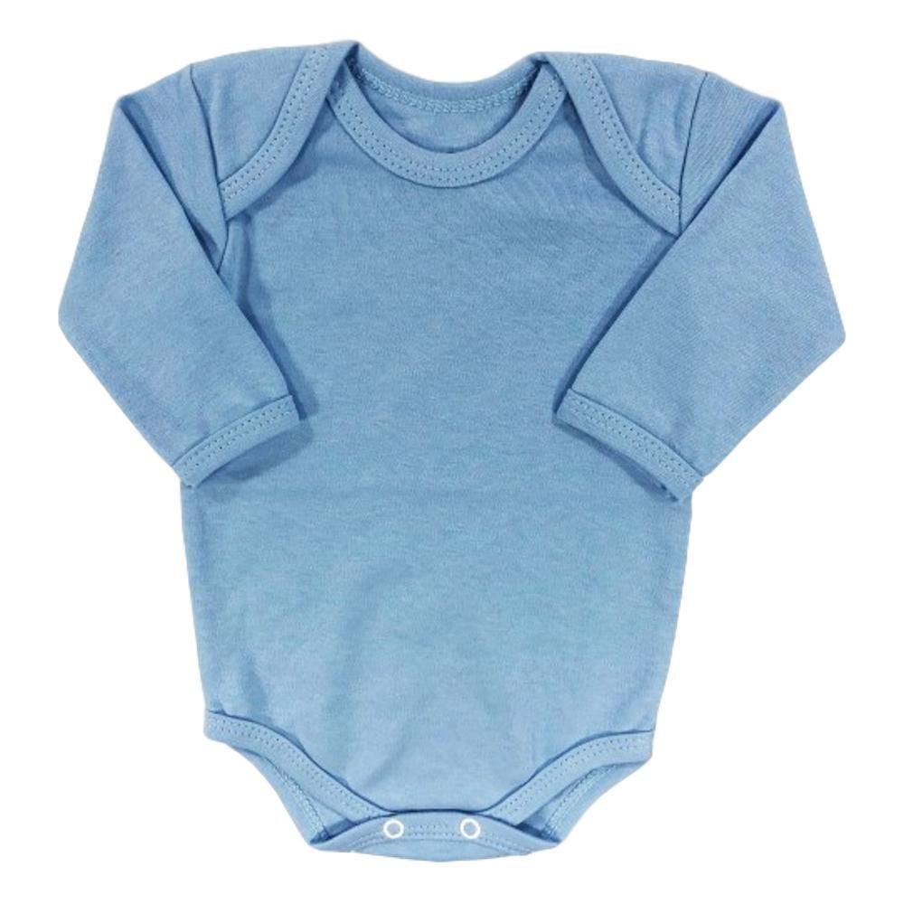 Body Bebê Manga Longa Piu Blu Várias Cores
