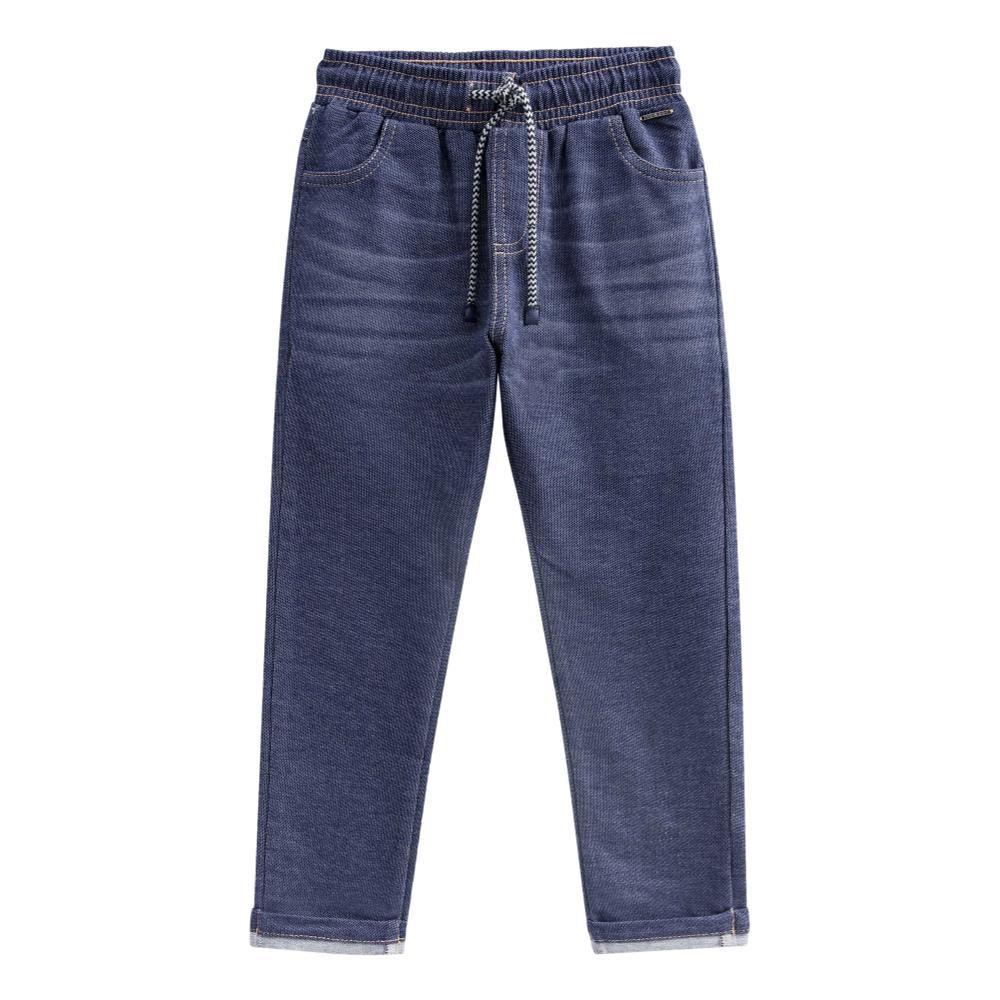 Calça de Malha Jeans