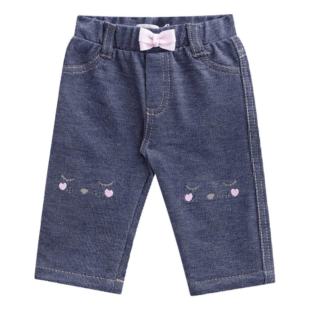 Calça em malha Jeans