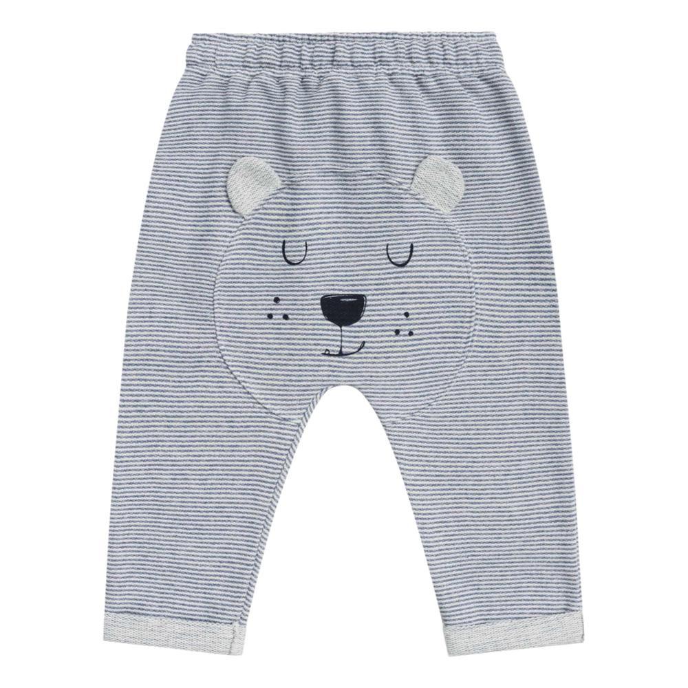 Calça Urso Cinza Listrada