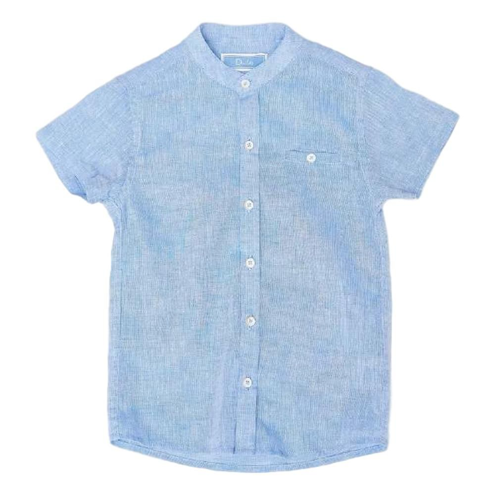 Camisa Linho Navy Kids