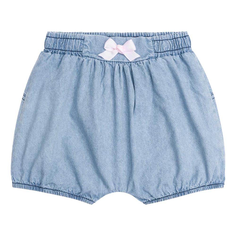 Conjunto Body Gatinhas e Shorts Jeans