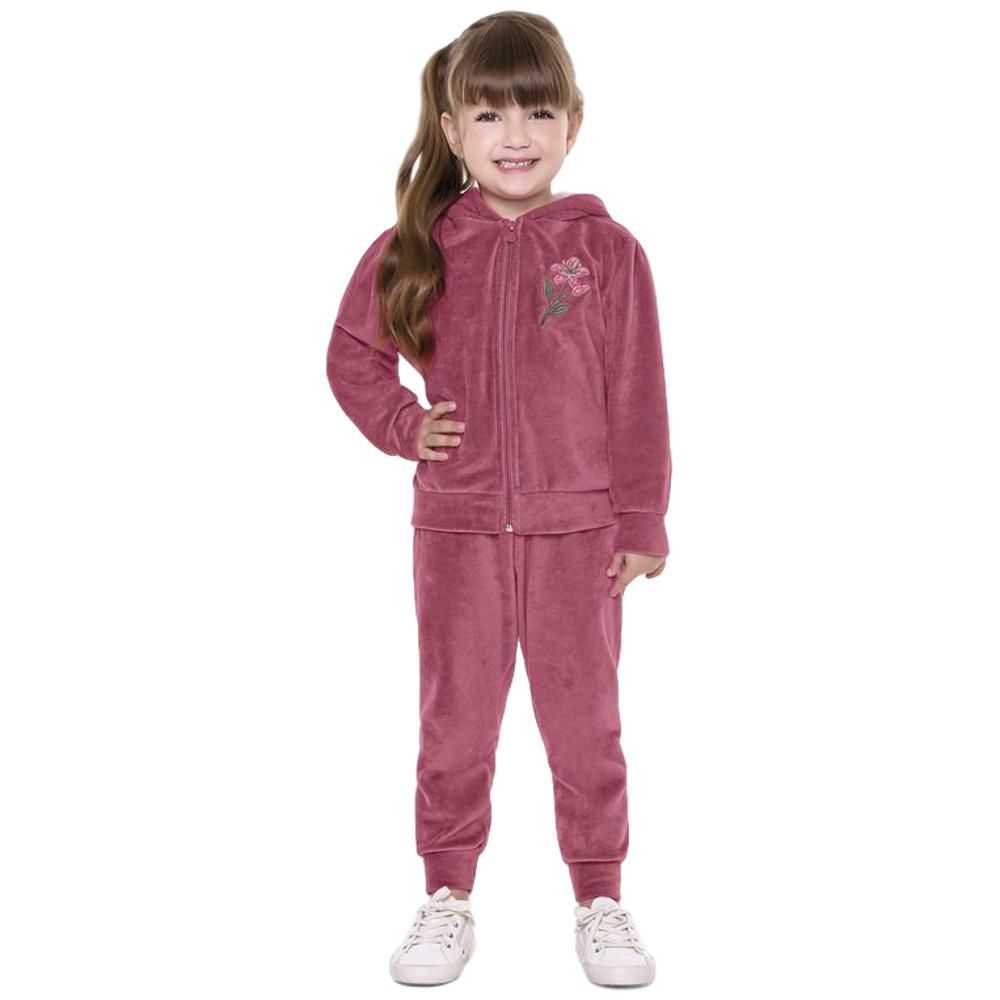 Conjunto Plush Infantil Rosa