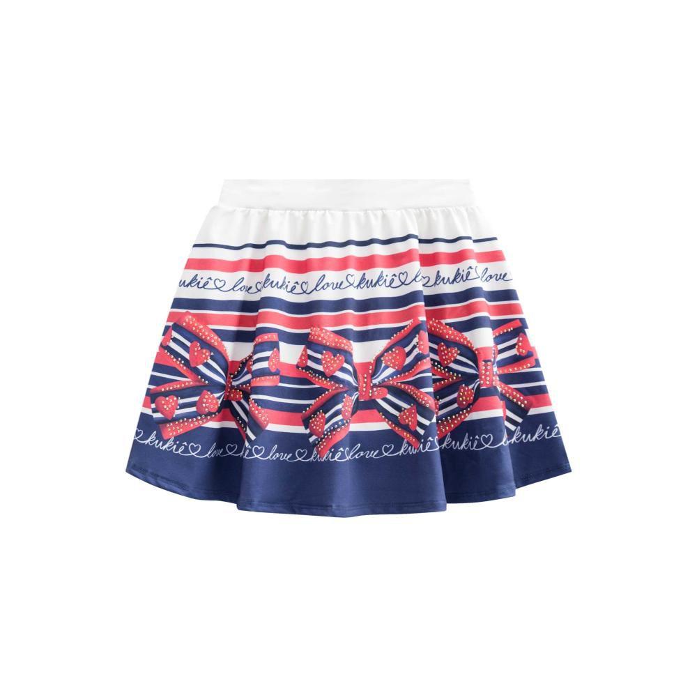 Conjunto Vermelho e Saia com Shorts Embutido