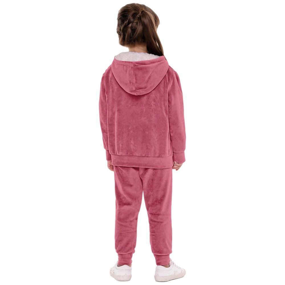 Kit Conjunto Infantil Feminino Inverno