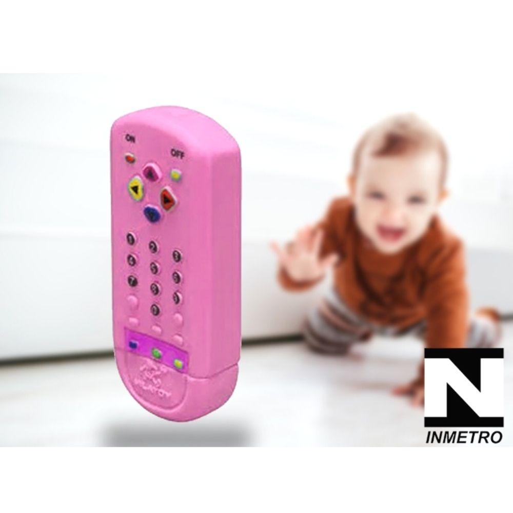 Mordedor Infantil Macio para Bebê Controle Remoto