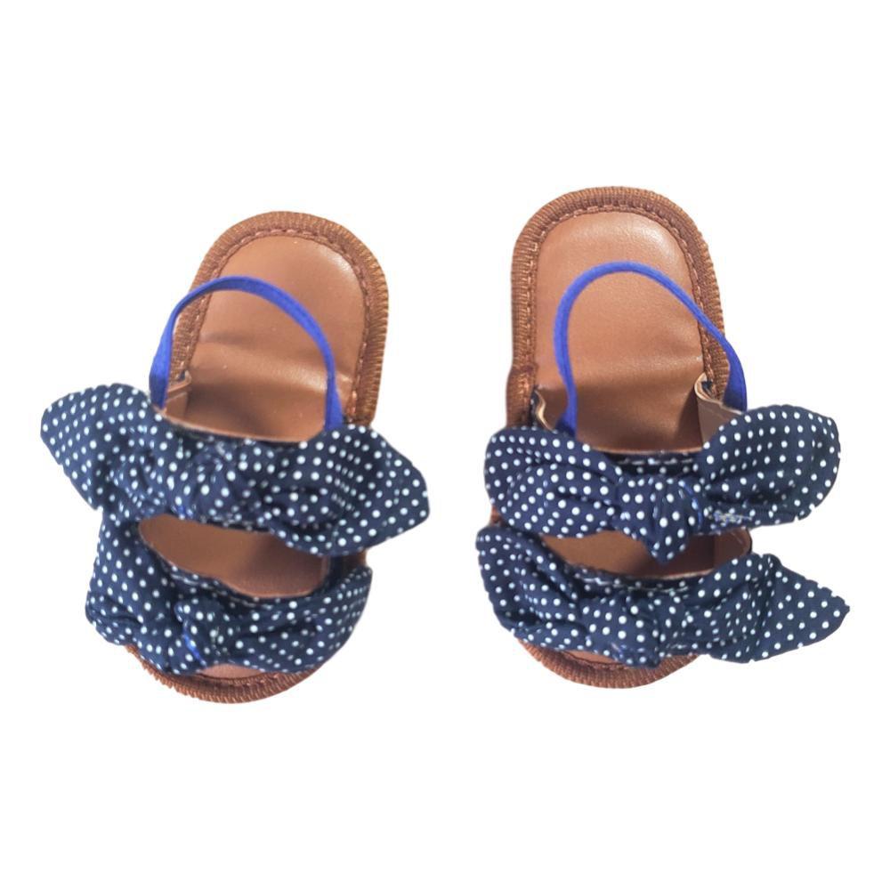 Sandália Charmosinha Azul Marinho