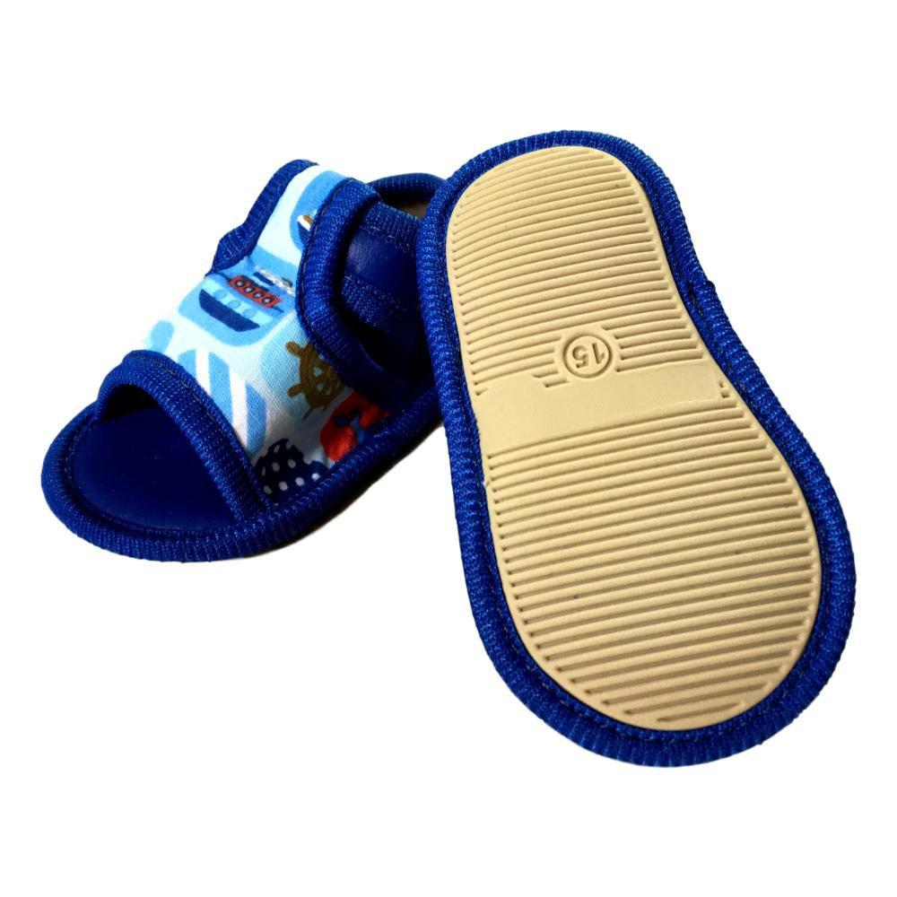 Sandália Marinheiro Azul Kit
