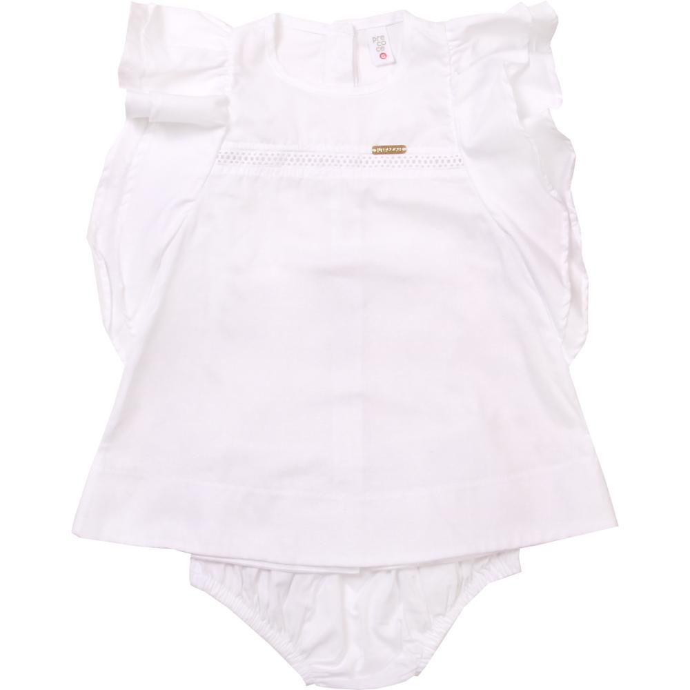 Vestido Bebê Branco Precoce