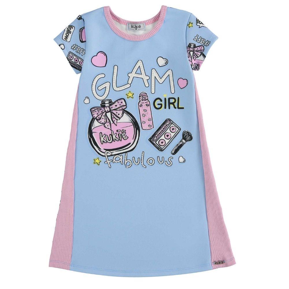 Vestido Infantil Menina Glamurosa