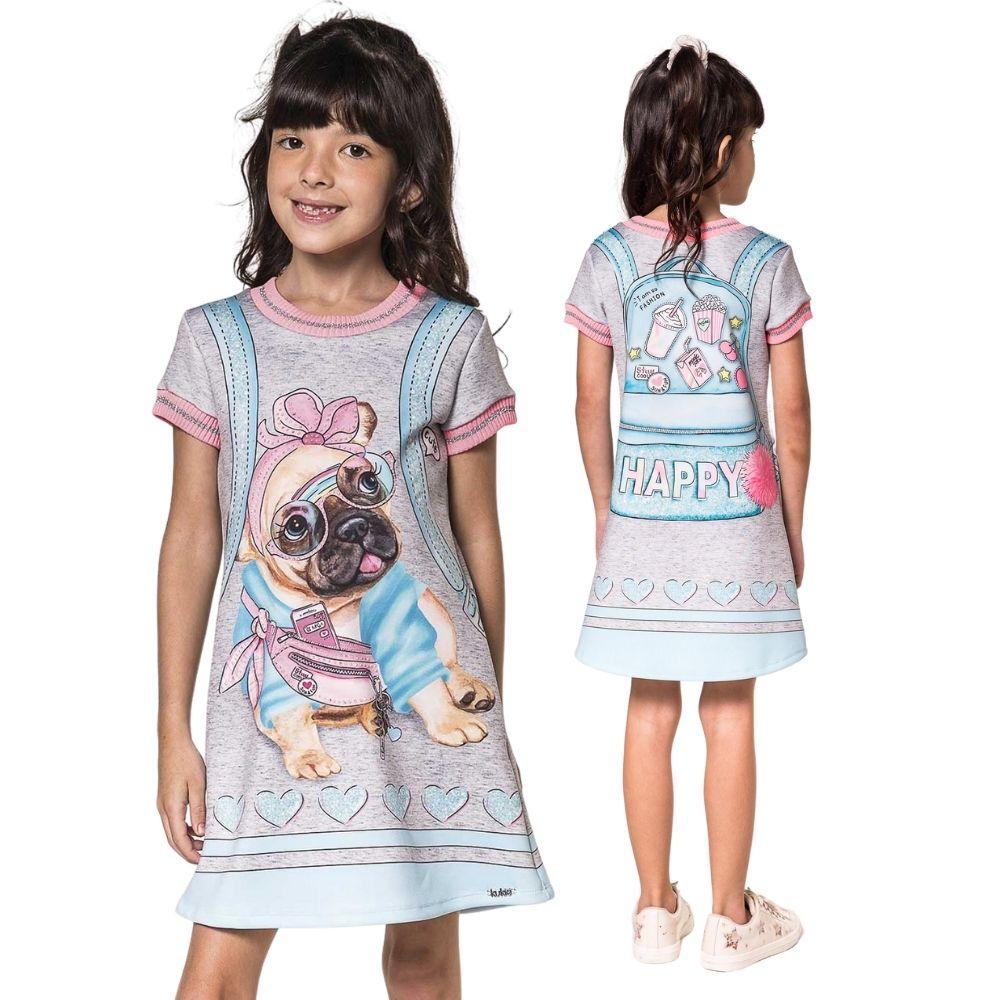 Vestido Infantil Puro Estilo