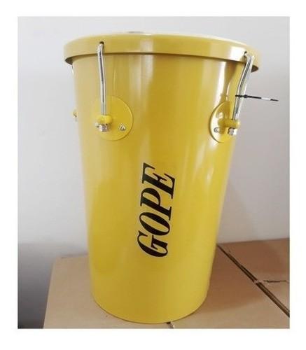 Rebolo Tantanzinho Aluminio Gope 10pol X45 Amarelo Prosperidade