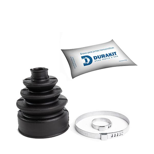 Kit Coifa Homocinética Mitsubishi Eclipse Lado roda - Durakit