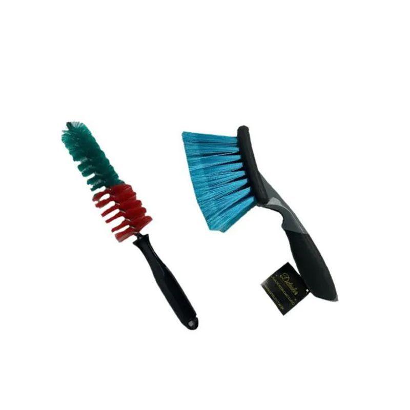 Kit Escovas Compactadas Para Limpeza de Rodas