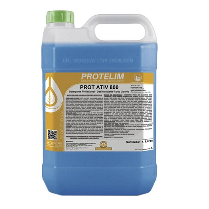 Prot Ativ 800 Desincrustante Ácido 5L - Protelim