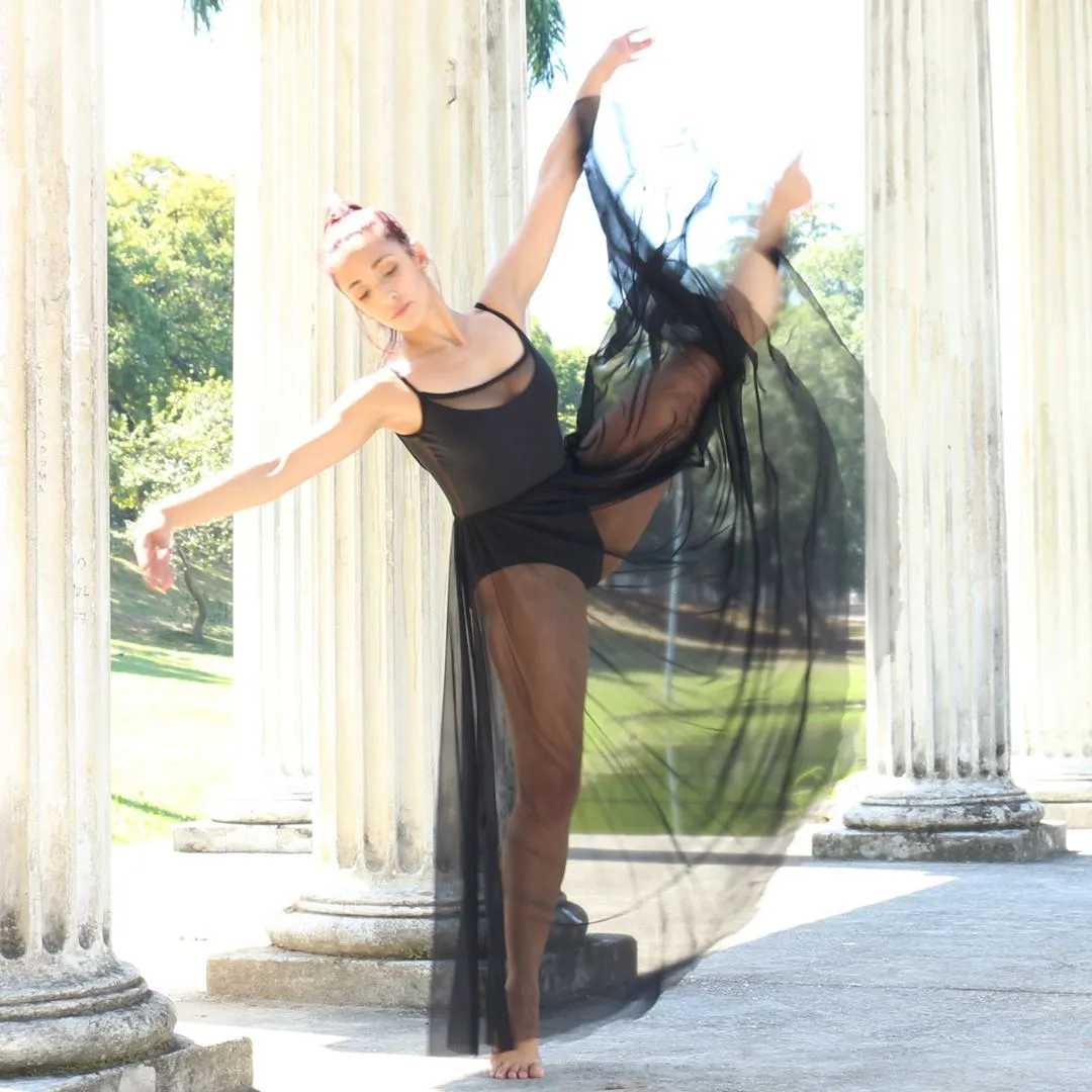 Collant de Ballet Transpasse
