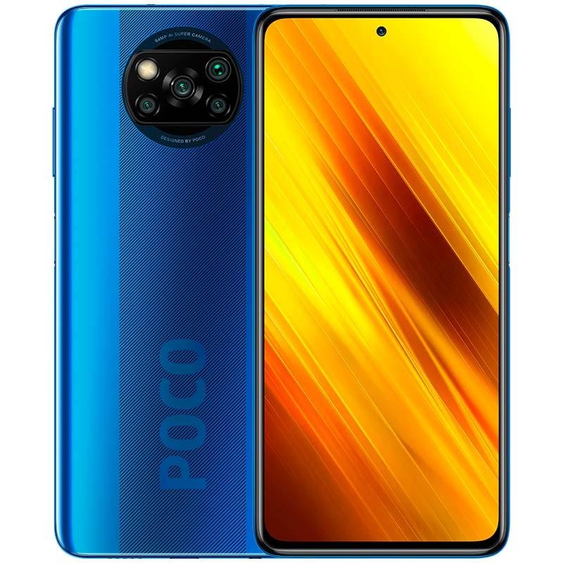 Celular Xiaomi Poco X3 NFC 64gb - Azul