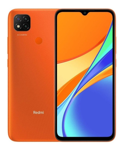 Celular Xiaomi Redmi 9C 32GB - Laranja