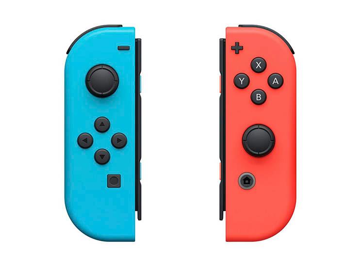 Controle Nintendo Joy Con - Neon (Blue Red)