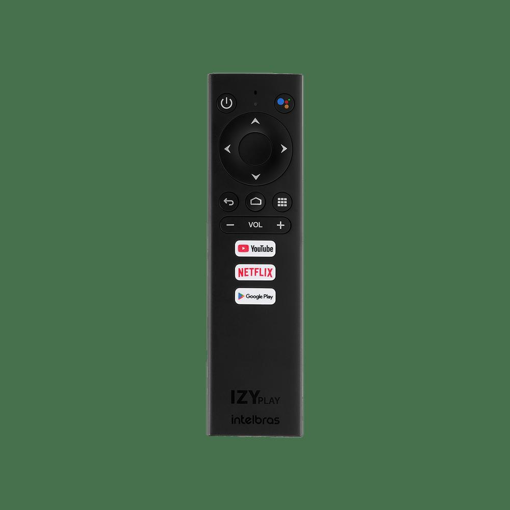 Smart Box TV Izy Play Intelbras Android TV e Chromecast
