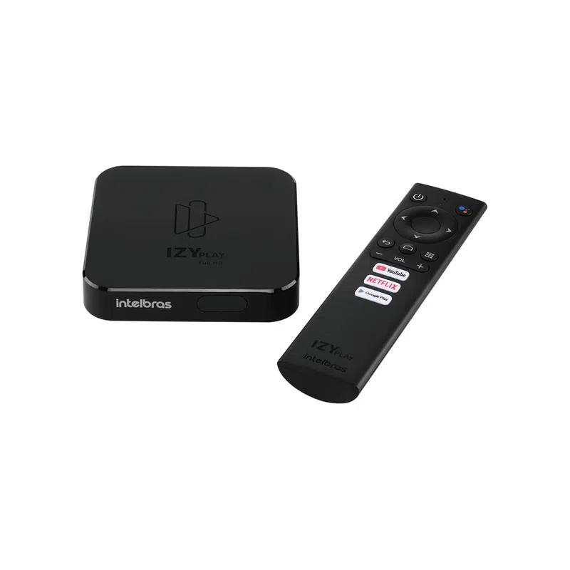 SmartBox TV Intelbraz Izy Play Android TV Chromecast Integrado