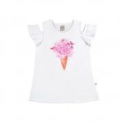 Bata Infantil Ice Roses- Boca Grande