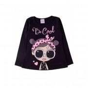 Blusa Infantil Evasê Be Cool- Ollelê Little