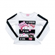 Blusa Infantil Fashion  - Duduka