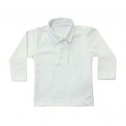 Blusa Polo Infantil - Piquet M/L