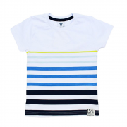 Camiseta Infantil Listras - By Gus