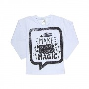 Camiseta Infantil M/L Magic-Ollelê Litlle