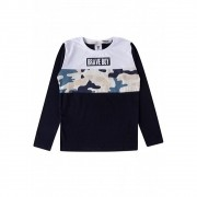 Camiseta Infantil M/L Brave Boy-By Gus