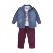 Conjunto Infantil Jeans- Gijo Kids