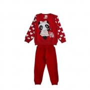 Conjunto Infantil Moletom Panda- By Gus