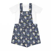 Conjunto Infantil Jardineira  - Rovitex Kids