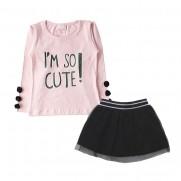 Conjunto Infantil Tulê Cute-By Gus