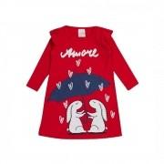 Vestido Infantil Amore-Ollelê Little