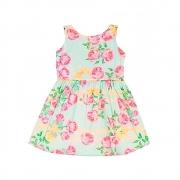 Vestido Infantil Floral - By Gus