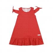 Vestido Infantil Poá - By Gus