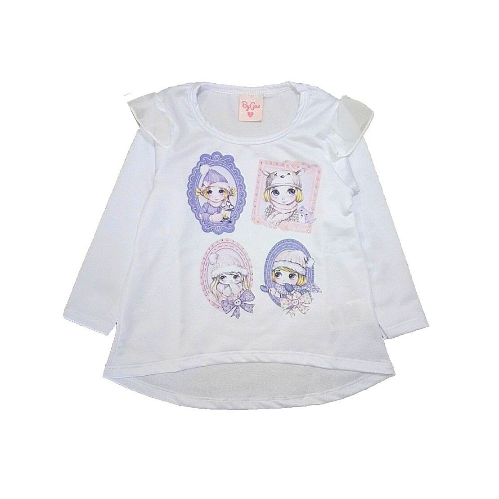 Blusa Infantil Crepe Winter-By Gus