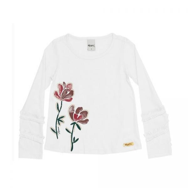 Blusa Infantil Flower-Minore