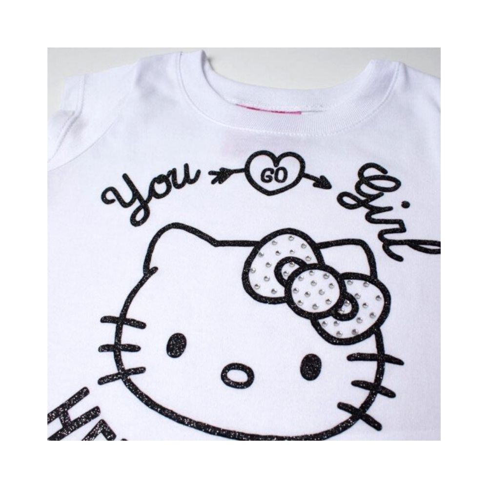 Blusa Infantil You Girl Hello KItty- Sanrio