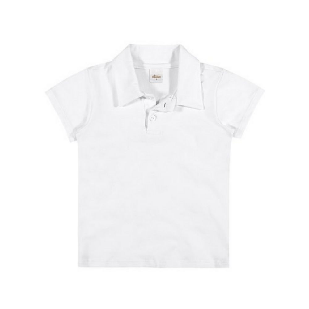 Blusa Infantil Polo Feminina- Elian