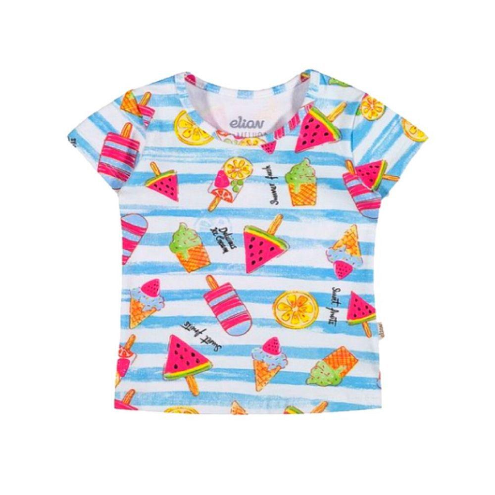 Blusa Infantil Sorvetes - Elian